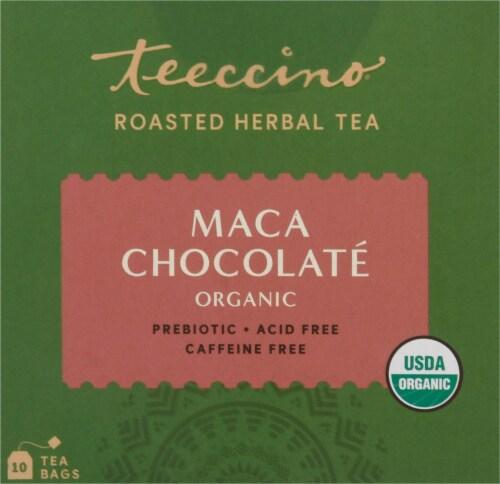 Teeccino® Chocolate Organic Herbal Tea Bags Perspective: top