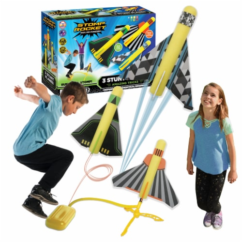 Stomp Rocket® Stunt Planes Perspective: top