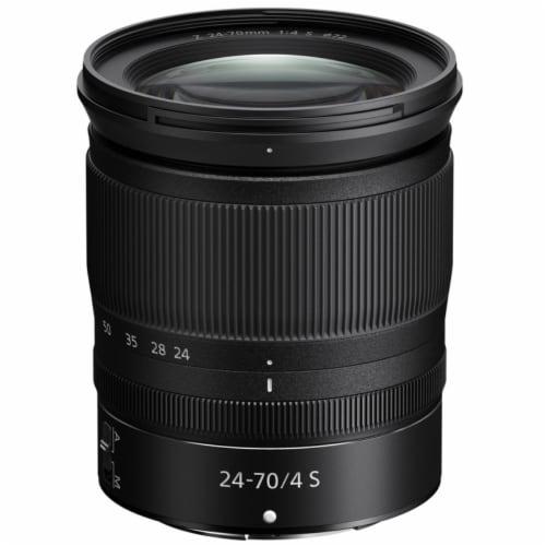 Nikon Z6 Fx-format Mirrorless Digital Camera + 24-70 F/4 Ftz + 64gb Xqd Card Kit Perspective: top
