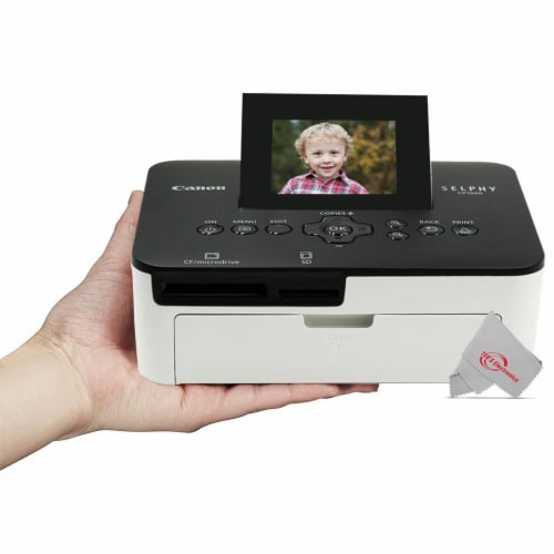 Canon Selphy Cp1000 Compact Colored Photo Printer Perspective: top