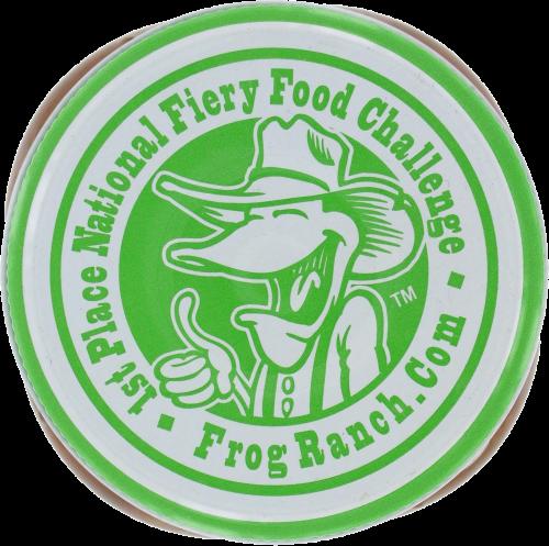 Frog Ranch Mild Salsa Perspective: top