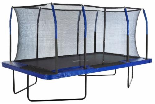 Upper Bounce® Easy Assemble Mega 8' X 14' Rectangular Trampoline Perspective: top