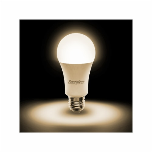 Energizer A19 Smart Bright Multiwhite LED Bulb Perspective: top