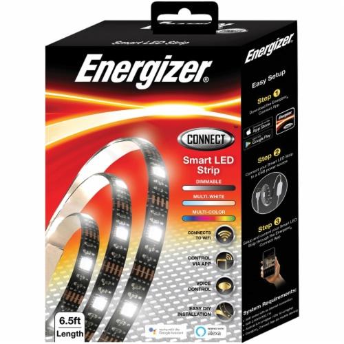 6-1/2 Foot Smart Multicolor LED Light Strip Perspective: top