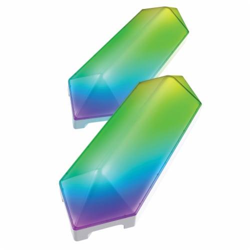 Monster MLB7-1039-RGB Smart Digit Modular 3D LED Art Panels Add-on Pack Perspective: top
