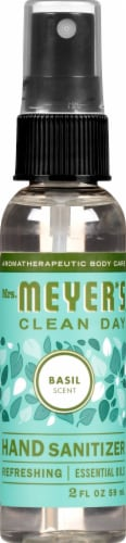 Mrs. Meyer's Clean Day Basil Scented Hand Sanitizer Perspective: top