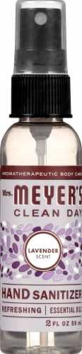 Mrs. Meyer's Clean Day Lavender Scented Hand Sanitizer Perspective: top