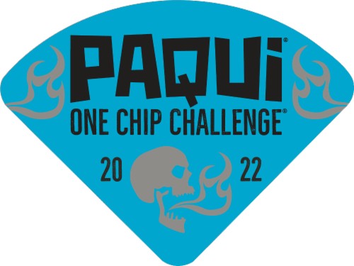 Paqui® One Chip Challenge Coffin Tortilla Chip Perspective: top