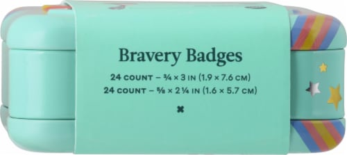 Welly Bravery Badges Rainbow Flex Fabric Bandages Perspective: top