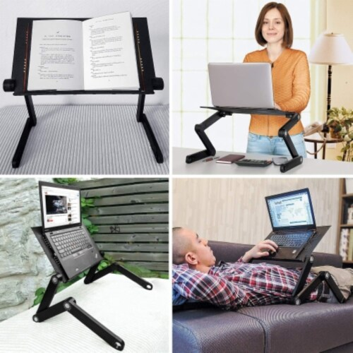 Ihip Adjustable Portable Laptop Table Stand Perspective: top
