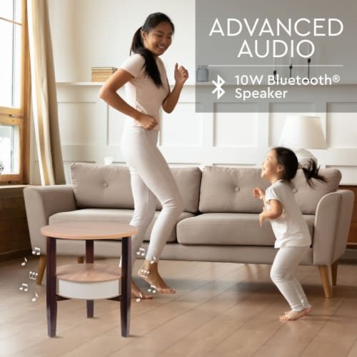 Wireless Fortis Speaker Table Perspective: top