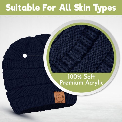 3-Pack Warmzy Baby Beanies (Urban) Perspective: top