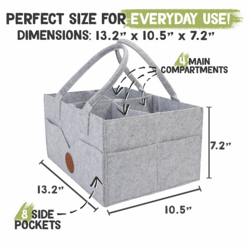 Original 2.0 Diaper Caddy Perspective: top