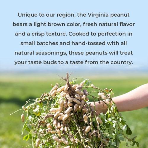 Belmont Peanuts Everything Bagel Seasoning Virginia Peanuts, 10 oz Perspective: top