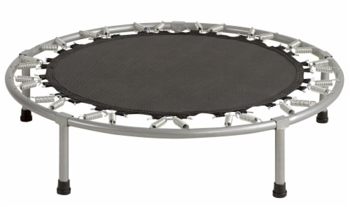 """Replacement Jumping Mat, Fits 8 ft Round Trampoline Frame with 56 V-Hooks,5.5"""" springs Perspective: top"""