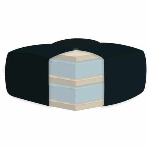 AJD Home 8  Twin Double Foam Youth Mattress in Camouflage Perspective: top