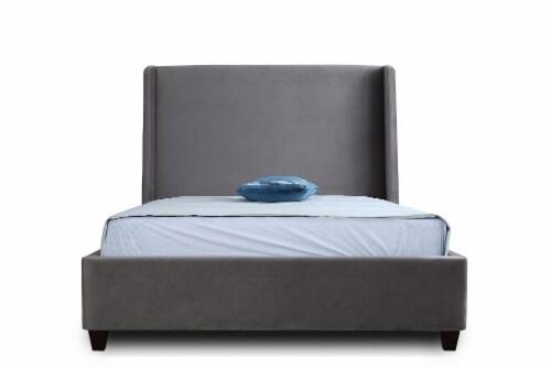 Manhattan Comfort Parlay Portobello Full Bed Perspective: top