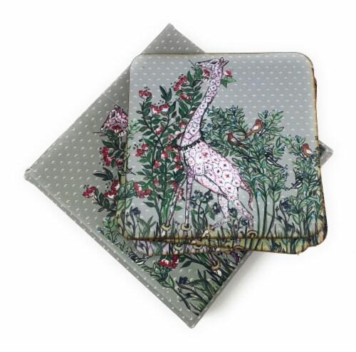 Vibhsa Designer Tea Coasters Perspective: top