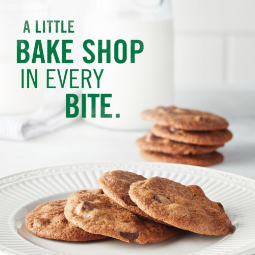 Tate's Bake Shop Gluten Free Chocolate Chip Cookies Perspective: top