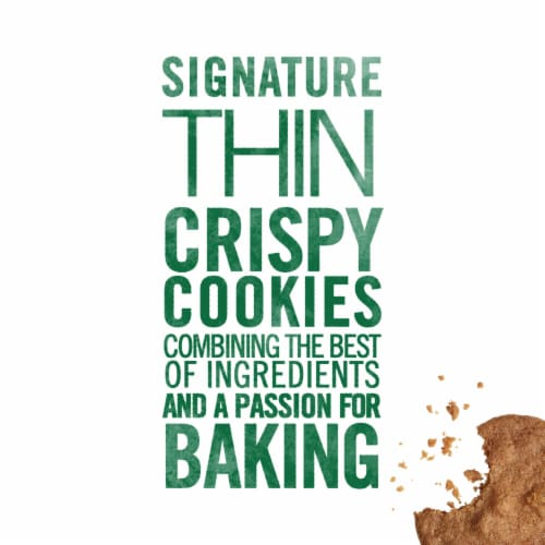 Tate's Bake Shop Gluten Free Ginger Zinger Cookies Perspective: top
