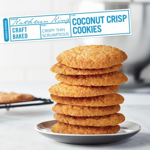 Tate's Bake Shop Coconut Crisp Cookies Perspective: top