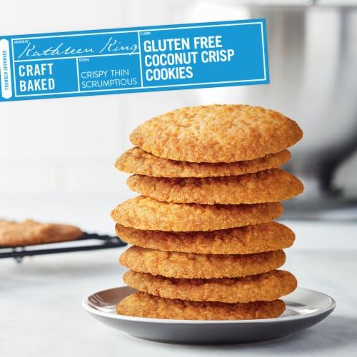 Tate's Bake Shop Gluten Free Coconut Crisp Cookies Perspective: top