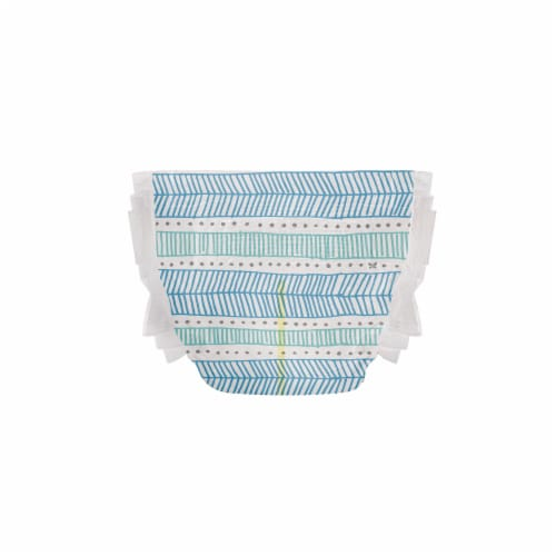 The Honest Co. Trains + Breakfast Print Size 2 Diapers Perspective: top