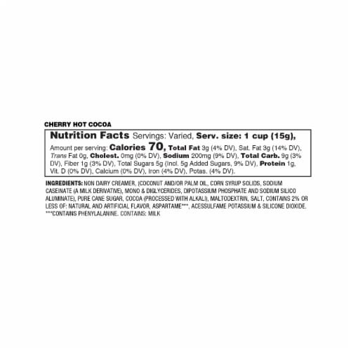 Soho Cherry Cordial Hot Chocolate Pods for Keurig K-Cup Brewers, 40 Count Perspective: top