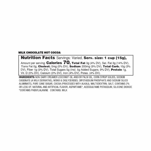 Soho Chocolate Truffle Hot Chocolate Pods for Keurig K-Cup Brewers, 40 Count Perspective: top