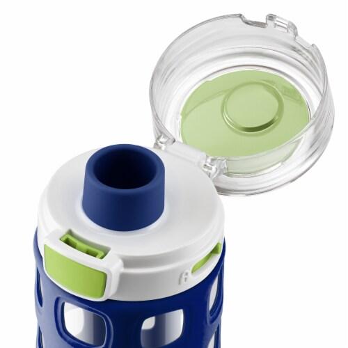 Ello Dash Tritan Water Bottle - Touchdown Blue Perspective: top