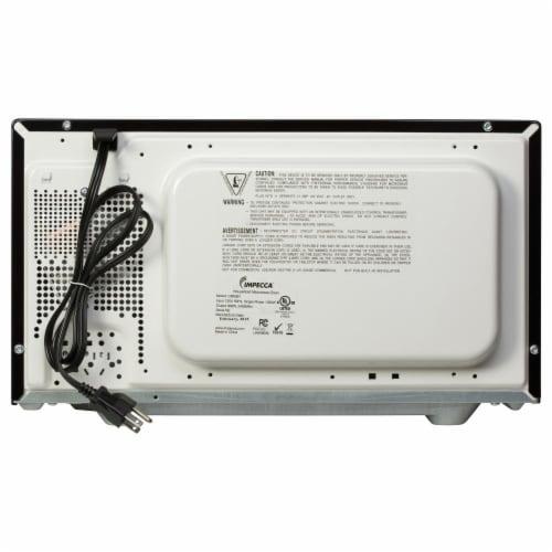 0.9 CU. FT. 900 Watt Countertop Microwave Oven, Black Perspective: top