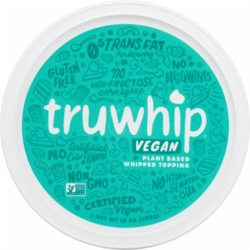 Truwhip Vegan Whipped Topping Bowl Perspective: top