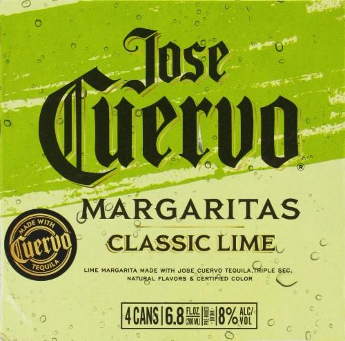Jose Cuervo Lime Margaritas Perspective: top