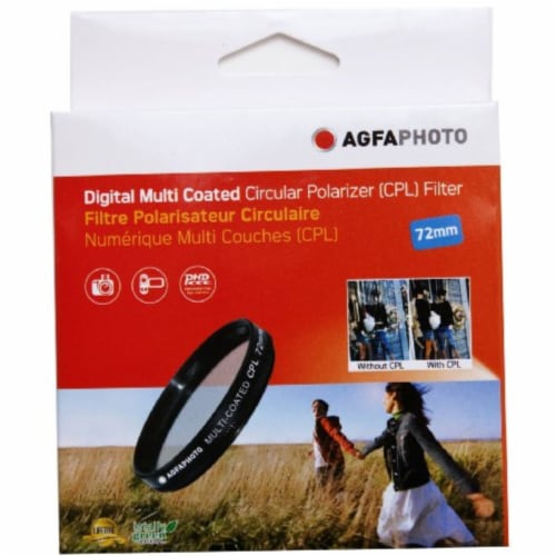 72mm Multi-coated Circular Polarizing (cpl) Filter Perspective: top