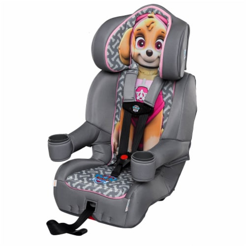 KidsEmbrace Nickelodeon Paw Patrol Skye Combination Harness Booster Car Seat Perspective: top