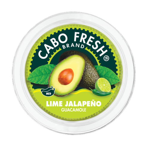 Cabo Fresh Lime Jalapeno Guacamole Perspective: top