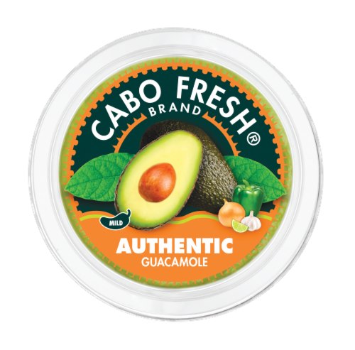 Cabo Fresh Authentic Guacamole Perspective: top