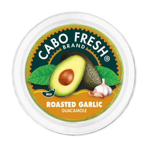 Cabo Fresh Roasted Garlic Guacamole Perspective: top