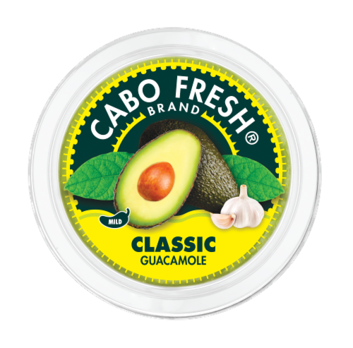Cabo Fresh Classic Mild Guacamole Perspective: top