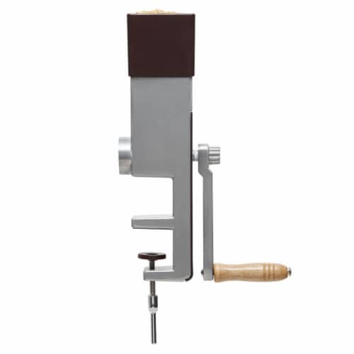 Hand Operated Adjustable Mill for Wheat, Rice and Small Grains Perspective: top