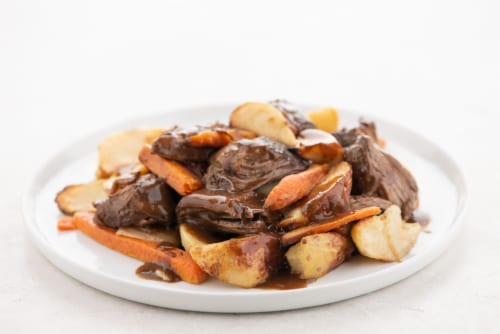 Home Chef Heat and Eat Sunday Pot Roast With Roasted Vegetables Perspective: top