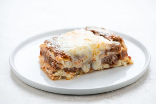 Home Chef Heat and Eat Italian Style Lasagna Perspective: top
