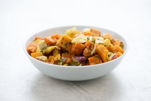Home Chef Heat & Eat Roasted Vegetables Perspective: top