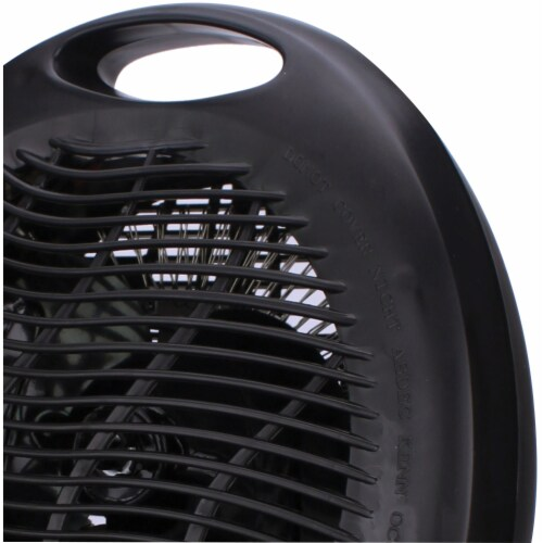 Brentwood Appliances H-F301BK Portable Electric Space Heater & Fan (Black) Perspective: top