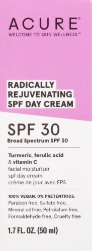 Acure Radically Rejuvenating Day Facial Cream SPF 30 Perspective: top
