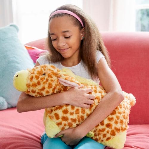 Pillow Pets Jolly Giraffe Plush Toy Perspective: top