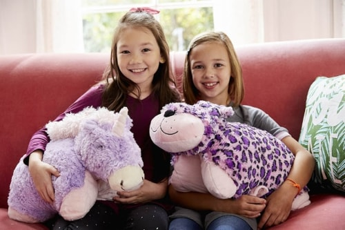 Pillow Pets Magical Unicorn Plush Toy Perspective: top