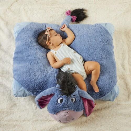 Pillow Pets Jumboz Disney Eeyore Plush Toy Perspective: top