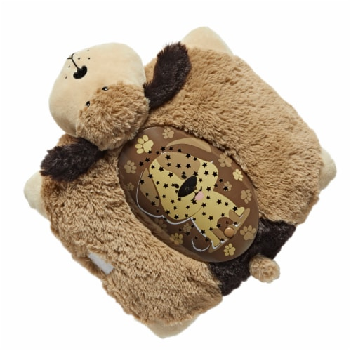 Pillow Pets Snuggly Puppy Sleeptime Lite Plush Toy Perspective: top