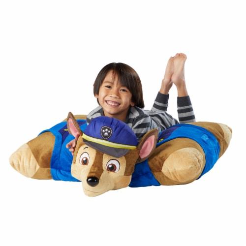 Pillow Pets Jumboz Nickelodeon Paw Patrol Chase Plush Toy Perspective: top